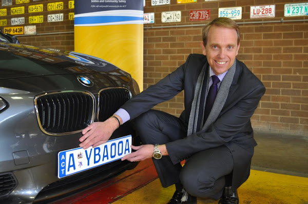 Simon Gets His Hands On Euro Style Plates And A Nice Beemer The