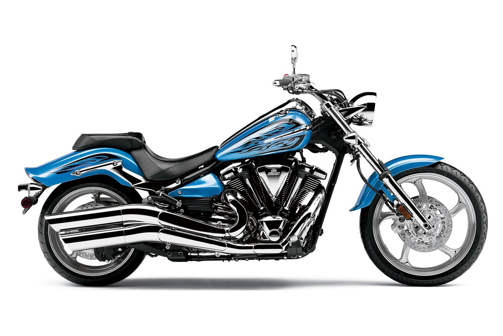 Yamaha Raider Motorcycle