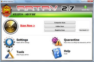 ARTAV Antivirus 2.7