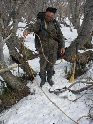 Барская охота на камчатке