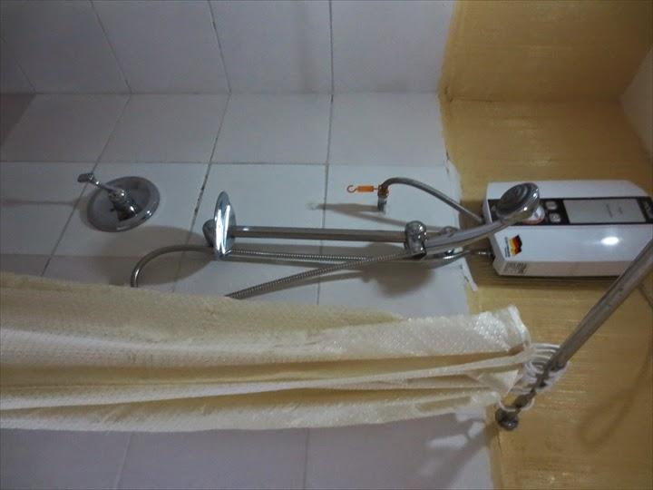 グランプリックスホテル(マニラ)シャワー