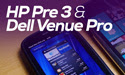 Dell Venue Pro and HP Pre 3