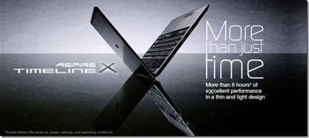 Acer TravelMate TimelineX