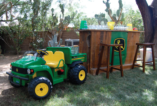 John Deere Party Ford Is 2 Chickabug