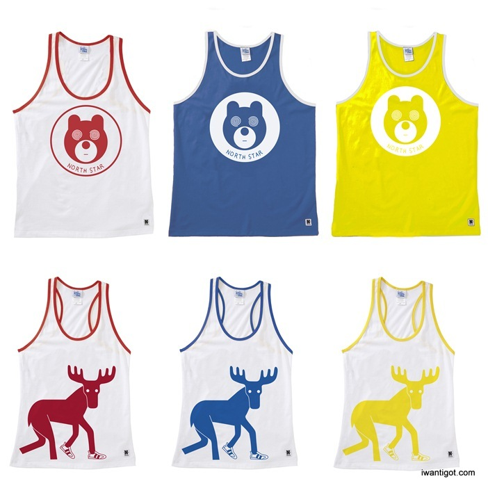 North Star x Geoff Mcfetridge Collection - Tank Tops