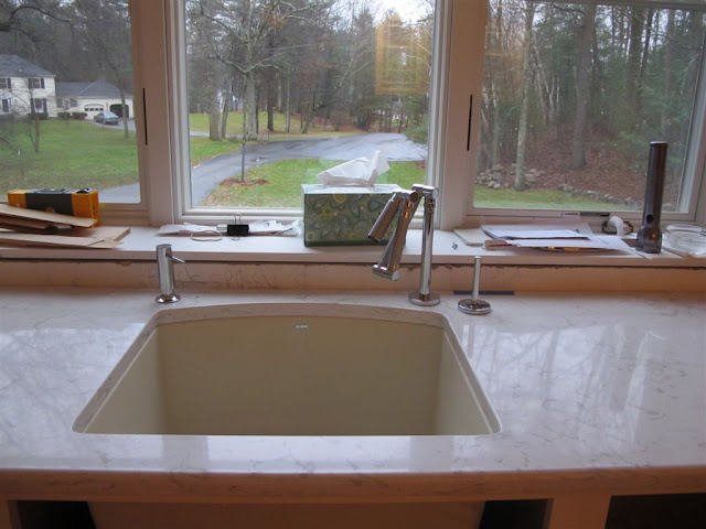Does Sink Faucet Have To Be Centered Under A Large Window