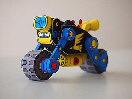 Robodatchi Papercraft Robo Rider