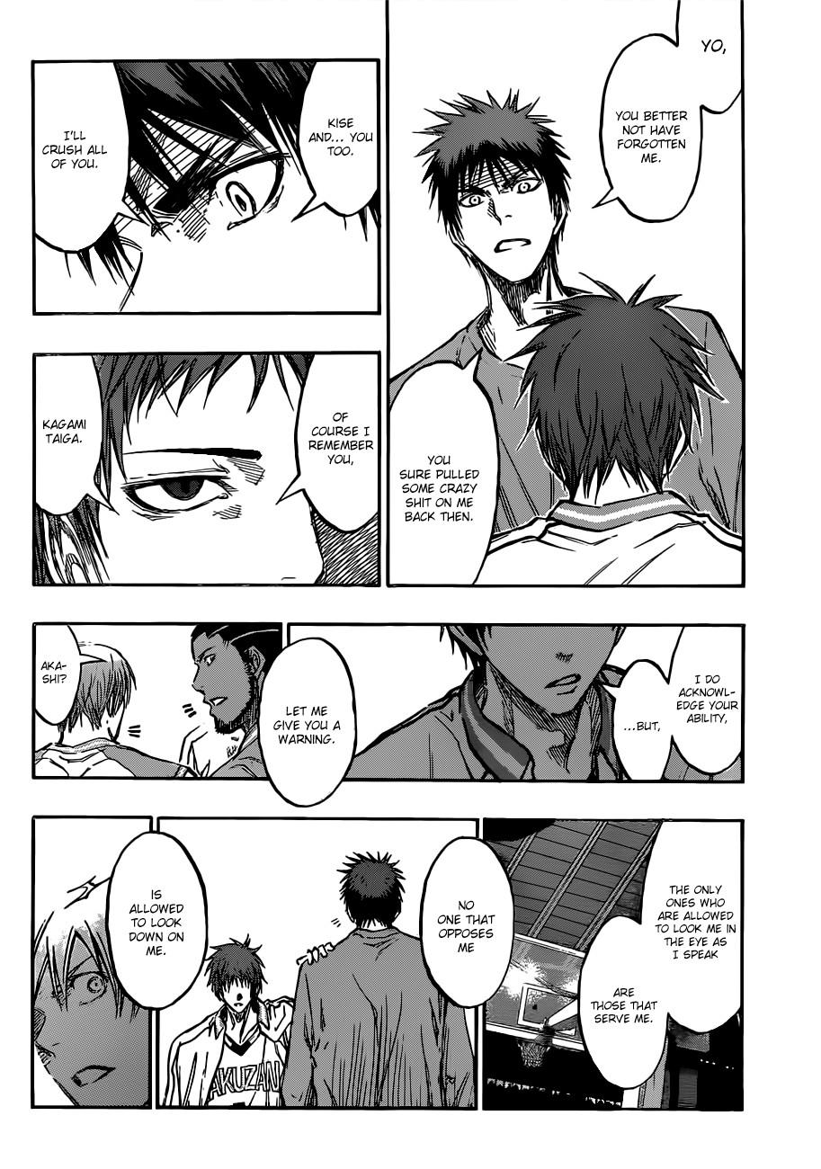 Kuroko no Basket Manga Chapter 178 - Image 08