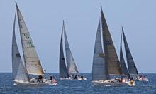 J/120 fleet sailing to Ensenada
