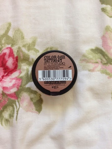 Maybelline on and on bronze eye tattoo cream shadow