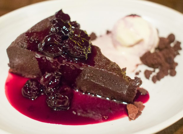 Chocolate Olive Oil Cake | Cherry + Vanilla Ice Cream, Cherry Compote ...