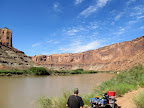 Checking out Bowknot Bend along the Green River