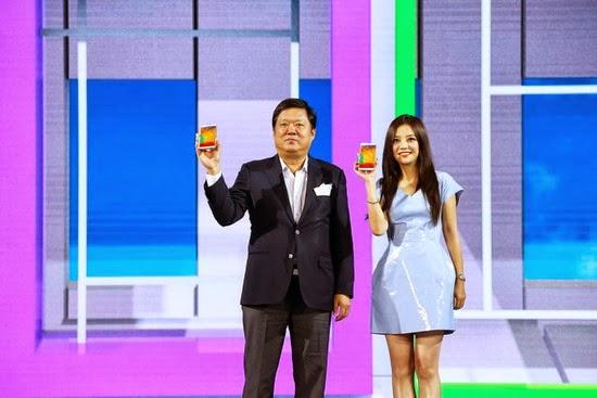 Triệu Vy: Gương mặt đại diện cho sản phẩm Samsung Galaxy Note 3