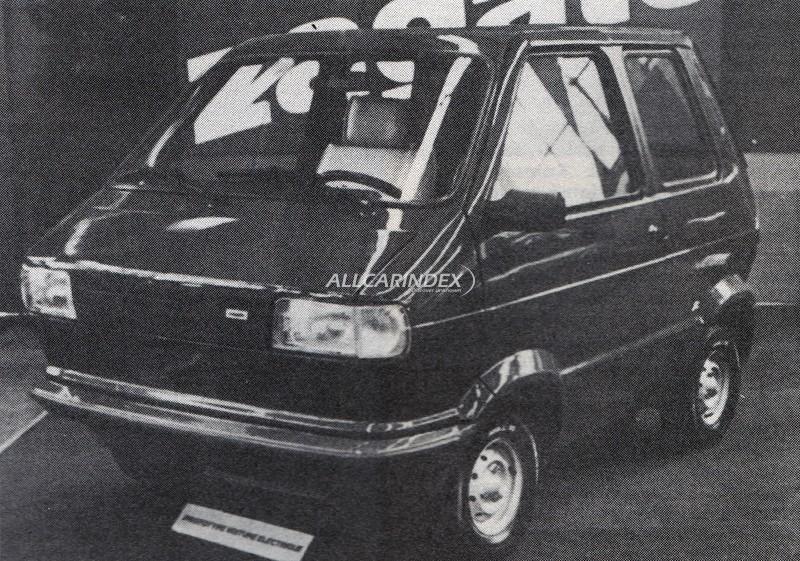 Zagato Zele Minivan Elettrica