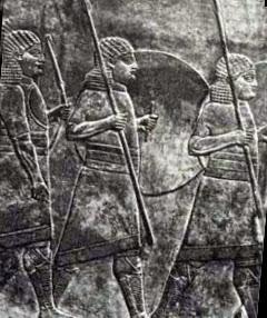 Копьеносцы ассирийцев