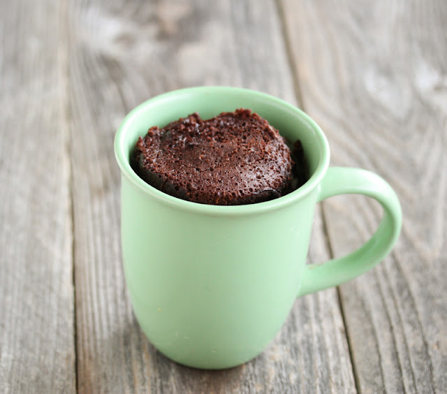 Chocolate Mug Cake With Egg