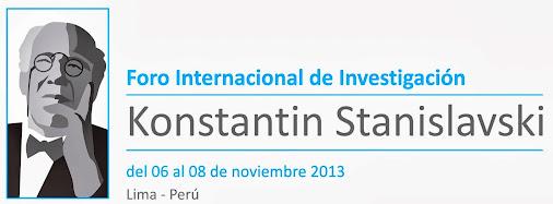 Konstantin Stanislavski - Perú