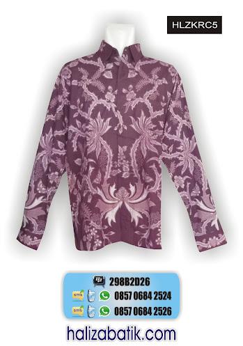 model baju batik lengan panjang, model busana batik, macam-macam gambar batik