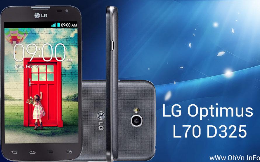 Hướng dẫn Hard Reset LG Optimus L70 D325
