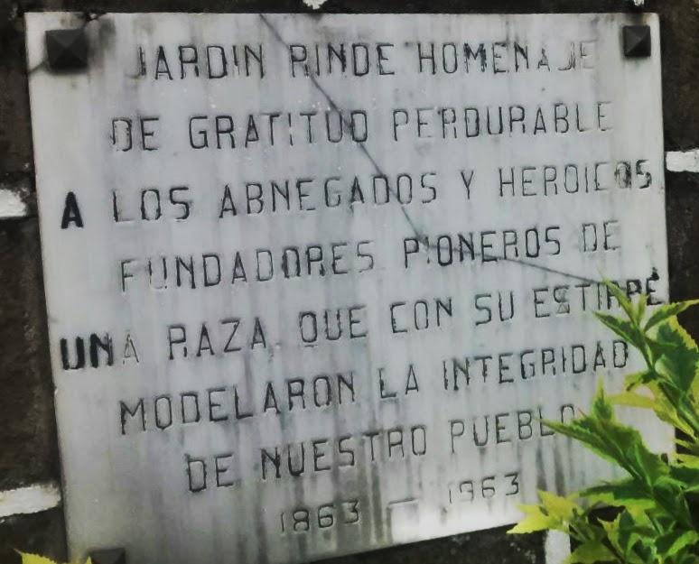 Monumento Jardín