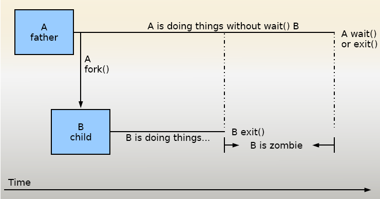 what is a zombie process in linux
