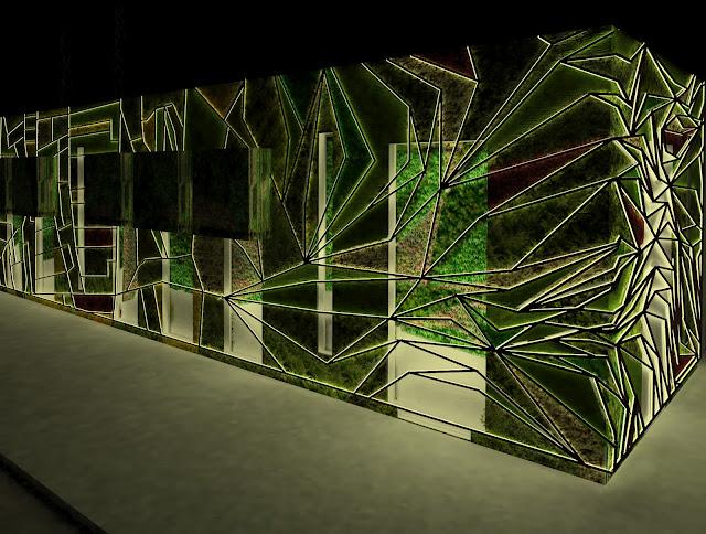 Urbanarbolismo redactar el proyecto de fachada vegetal del palacio de congresos de vitoria - Iluminacion vitoria ...