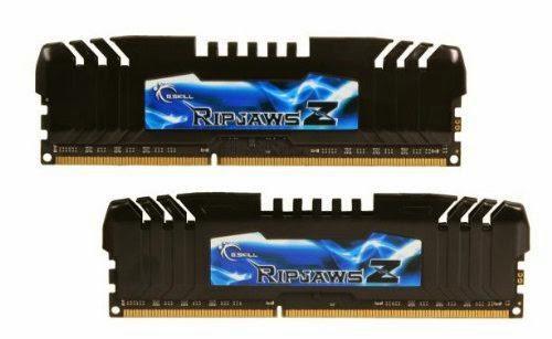 G.SKILL Ripjaws Z Series 8GB (2 x 4GB) 240-Pin DDR3 SDRAM DDR3 2400 (PC3 19200) Desktop Memory Model F3-2400C10D-8GZH