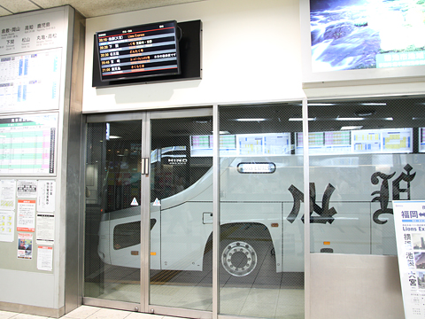 西鉄高速バス「Lions Express」 8546 西鉄天神BC入線