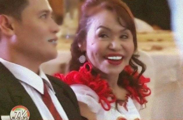 Michael Yamson Mommy Dionisia Pacquiao Boyfriend on 65th birthday