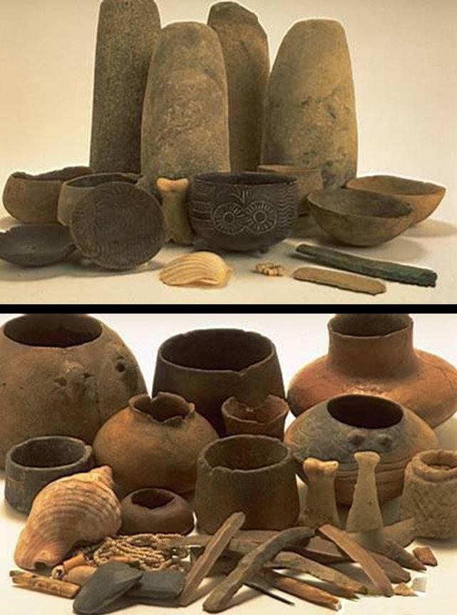 Algargos arte e historia el calcol tico y la cultura for Origen de la ceramica