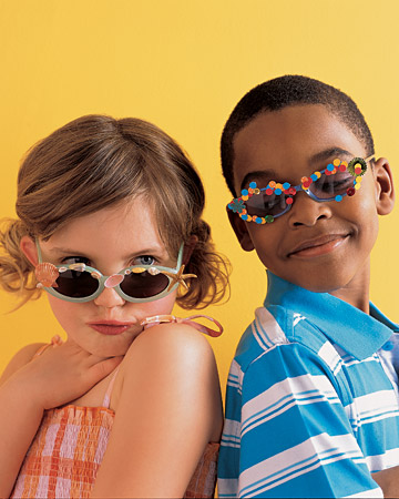 These shades are pretty groovy- and provide important protection from UV rays too.