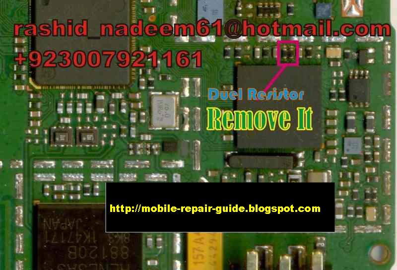Nokia 1661-1202 Test Mode Problem Picture Help