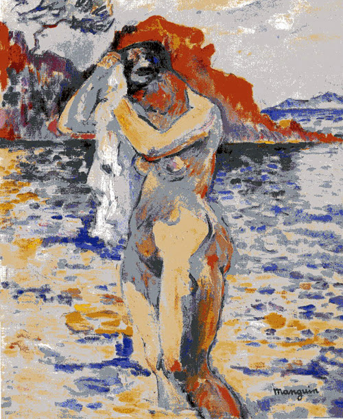 Henri-Charles Manguin - Bathing woman