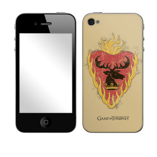 Baratheon Skin iPHONE4