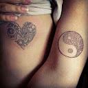 yin yang tattoo Designs 14