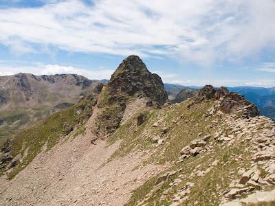 Aresta summital del Pic d'Escobes