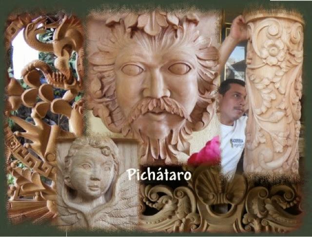 El arte de Michoacán  CASA DE ARTESANIAS SESI UKATA CUANAJO