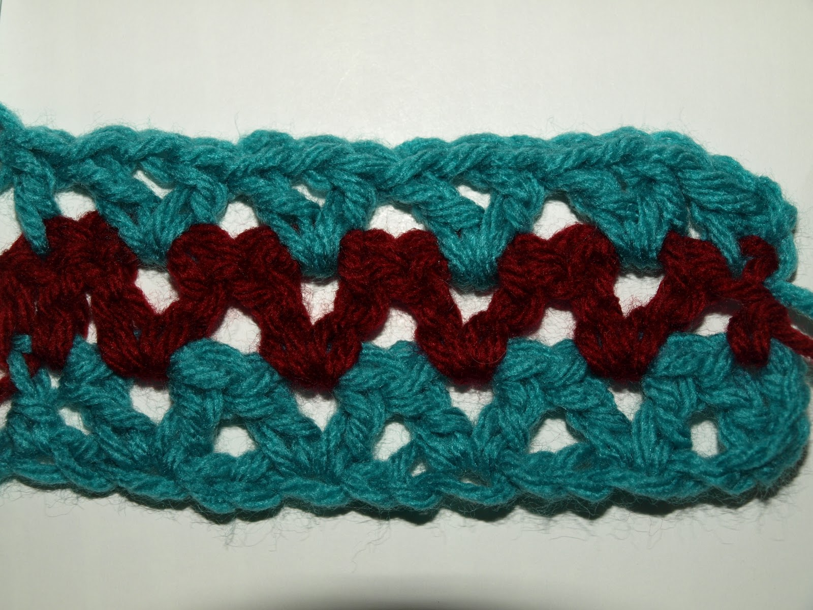 Crocheting Double Stitch : CrochetByKarin: Double Crochet V Stitch