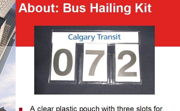 bus hailing