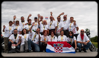 BMW moto klub Zagreb FIM Rally 2012 Team
