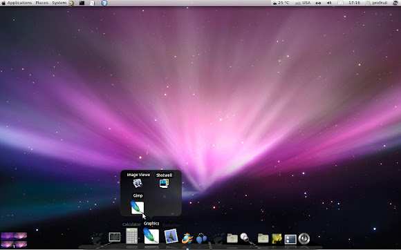 Leopard Mac OS theme for Ubuntu 11.04