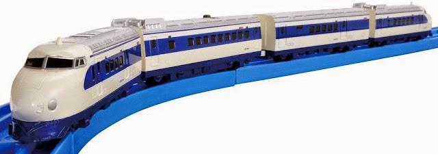 Hình ảnh đoàn Tàu hỏa AS-01 Shinkansen Series 0 thật thú vị thật đẹp mắt