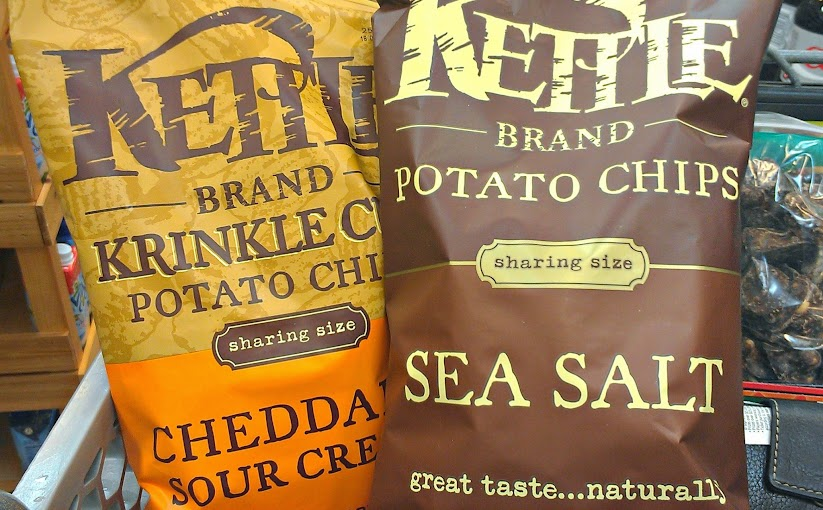 Kettle Brand All-Natural Chips #TheRealKettleChips