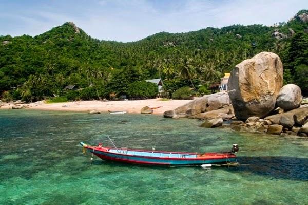 du lịch thái lan ở Đảo Rùa Koh Tao