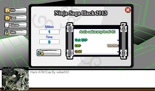 Cheat Atm Exp + Gold Ninja saga Mei 2013