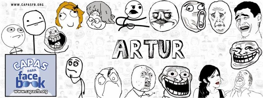 Capas para Facebook Artur