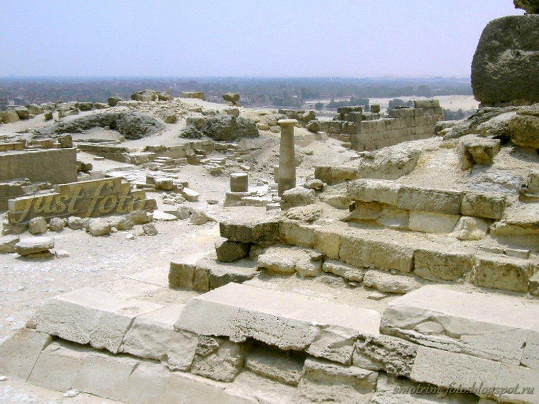 Руины - египетские пирамиды