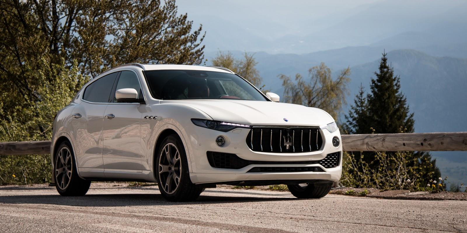 Maserati Levante 2017 hứa hẹn sẽ mang đến làn gió mới trong phân SUV hạng sang