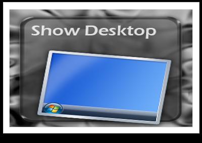 Hướng dẫn Tạo nút Show Desktop
