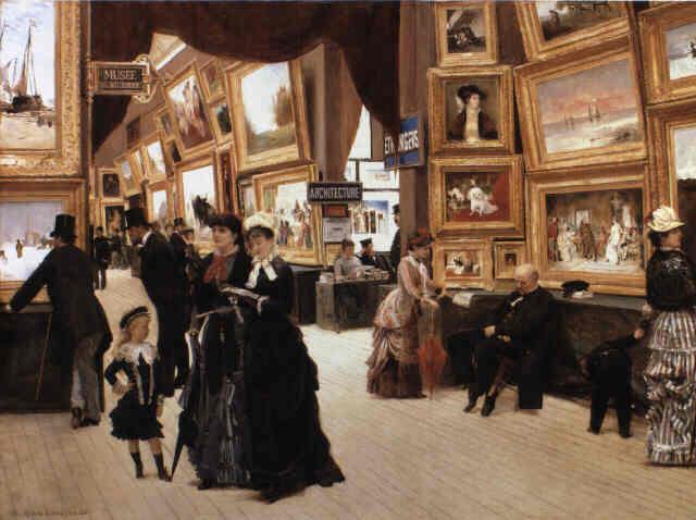 Édouard Joseph Dantan - Un Coin du Salon en 1880